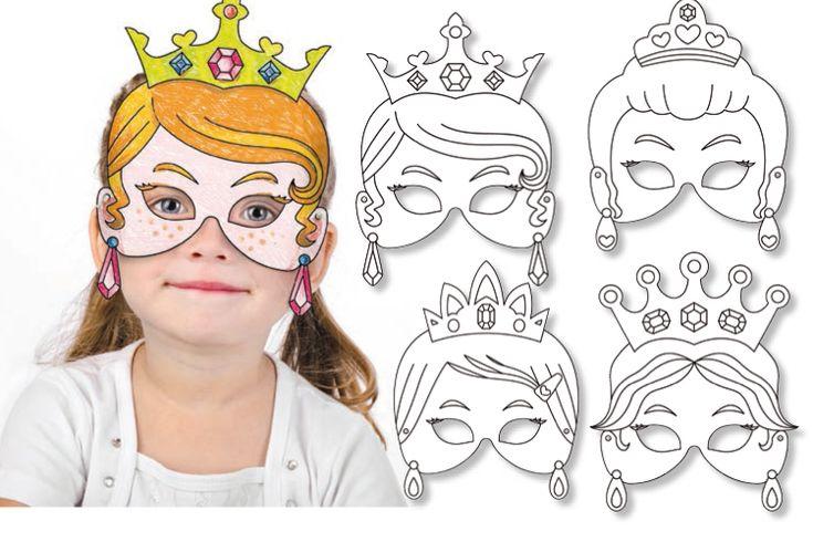 Set de 4 masques Princesses NL