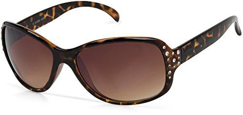0cdf4e832b0 styleBREAKER lunettes de soleil avec strass et verres à teinte dégradée  forme papillon pour femme 09020054