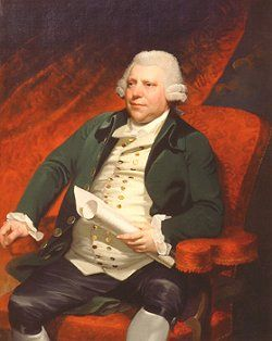 Sir Richard Arkwright, Englishman.  The father of the industrial revolution.
