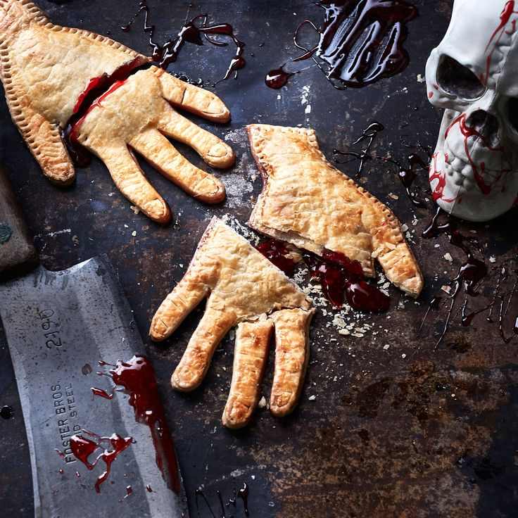 This freaky-delicious treat serves up classic flavors with a Halloween twist. Impress your guests with sweet cherry filling in flakey...
