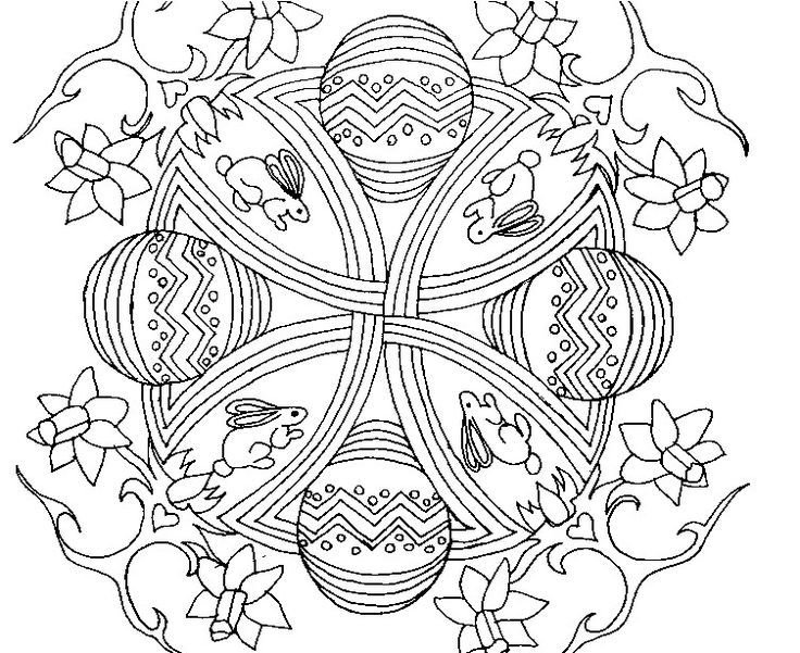 723 Best Images About Mandala Colouring Pages To Print On Pinterest