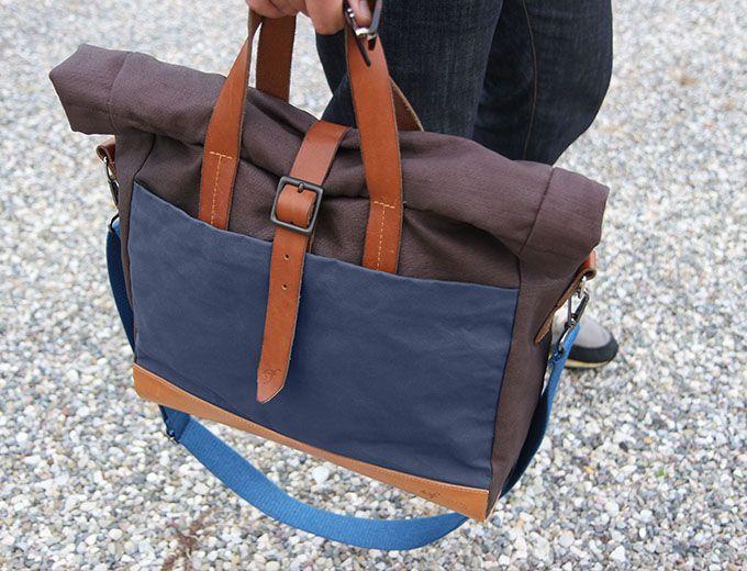 Rollup Laptop Bag – BLU  - Officine Federali