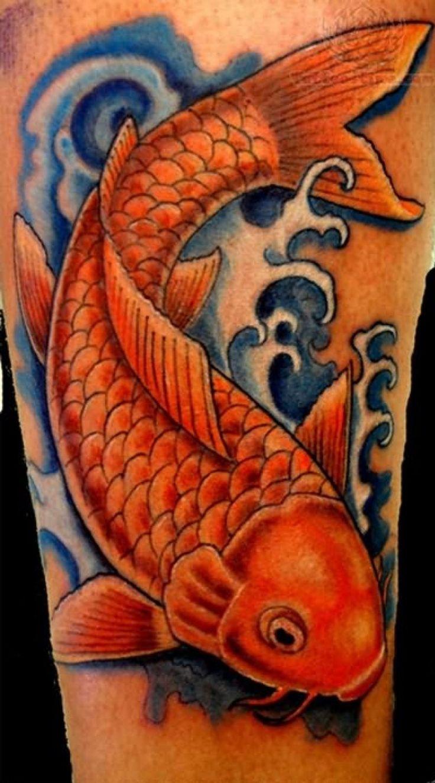 30 gorgeous koi fish tattoos ideas for men and women koi for Female koi fish