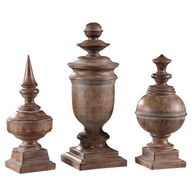 20 Best 3 Quot Finials Amp End Caps Set 1 Images On Pinterest