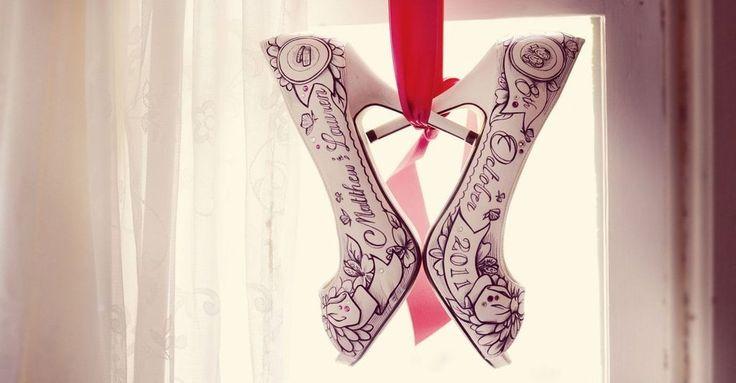 Scarpe Personalizzate Matrimonio