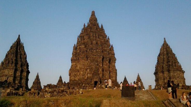 Prambanan in the afternoon..