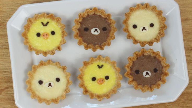How to Make Rilakkuma Tarts!