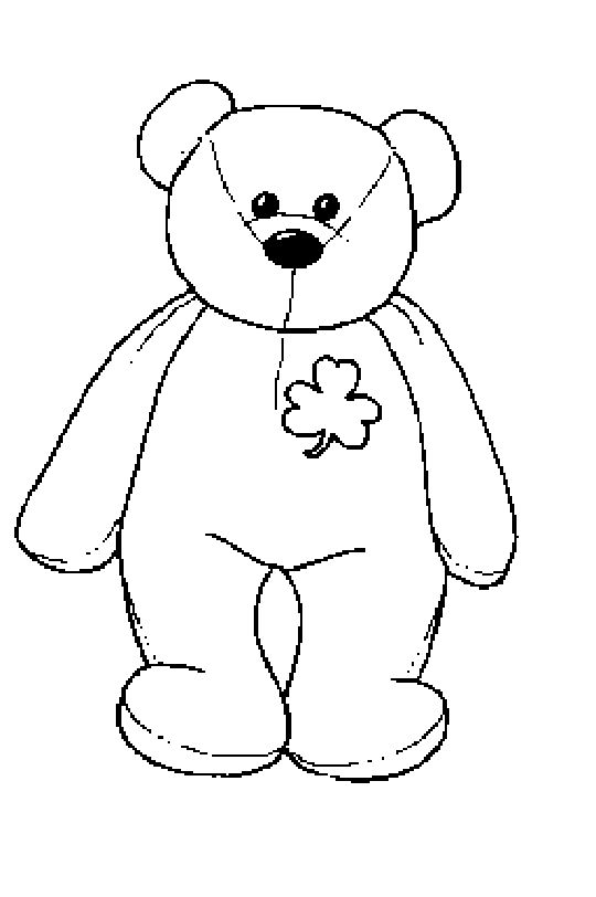 printable baby bear coloring pages - photo#7