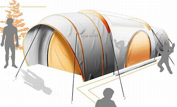 Seven unusual and interesting camping tents for modern nomads   Designbuzz : Design ideas and concepts