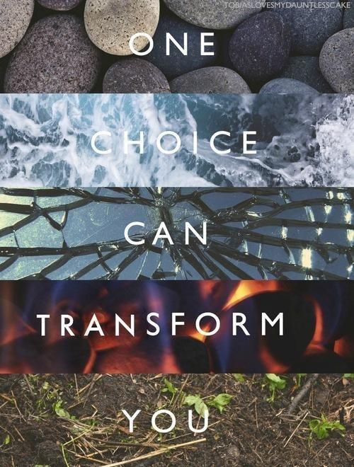 One choice. ..