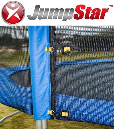 Jump Star trampoline enclosure nets available in all sizes at www.jumpstar.com.au