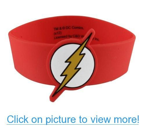 Dc Comics The Flash Snap Bracelet Wristband Bracelets Pinterest And