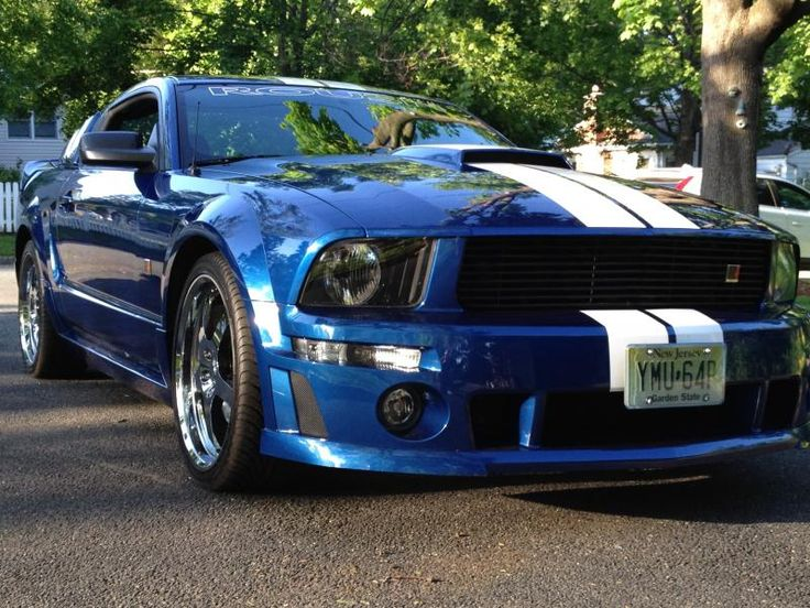 Roush Mustang Beautiful and my sisters old car & 136 best The mighty Mustang images on Pinterest | Ford mustangs ... markmcfarlin.com