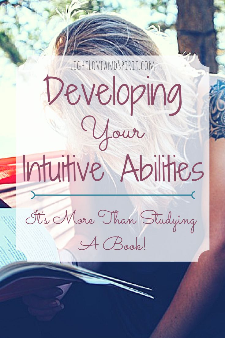 How to develop psychic abilities. Developing intuitive abilities