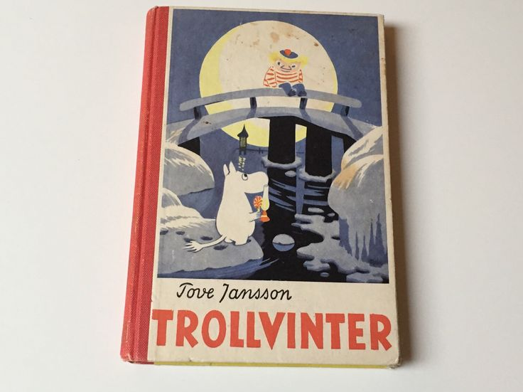 Vintage Moomin first edition Trollvinter / Tove Jansson / The moomins / Midwinter Moomin by ScandiVintageShop on Etsy https://www.etsy.com/listing/223864879/vintage-moomin-first-edition-trollvinter