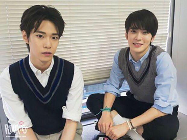 Doyoung and Jaehyun #SMROOKIES