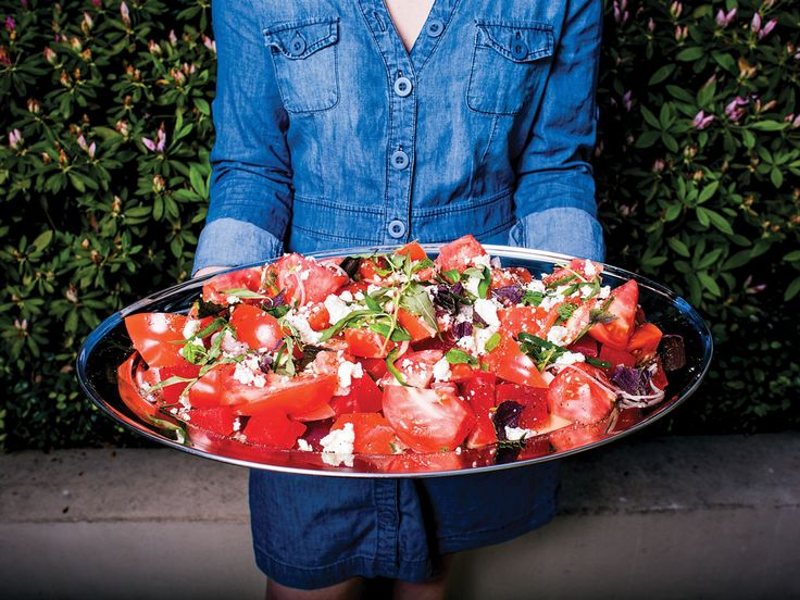 For a Southeast Asian spin, chef Chris Shepherd of Underbelly in Houston adds fish sauce, chile, and Thai basil to the classic combination of watermelon and feta.