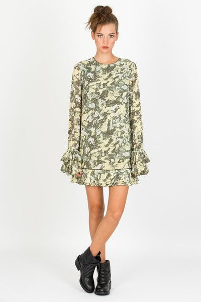 Coop Ruffle Dutch Dress at Wendys Boutique
