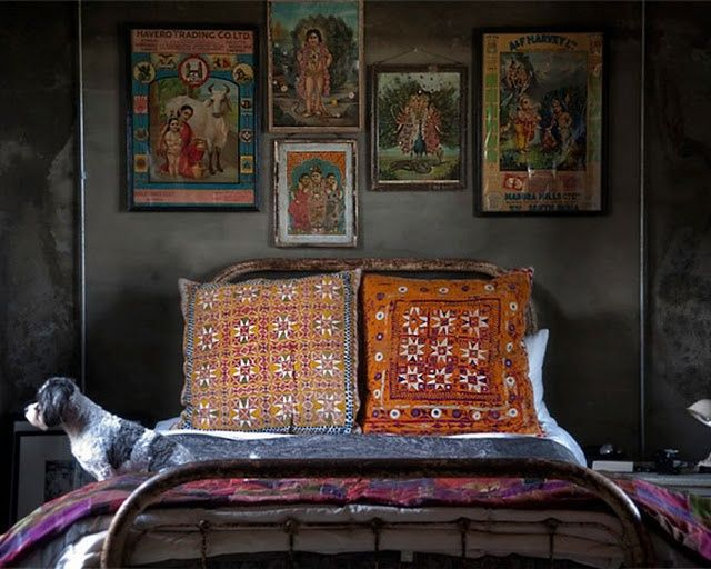 #Kitchy #Indian #Decor #Bedroom # Housedelic   housedelic.com
