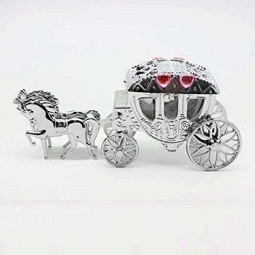 Pack of 12 Horse & Carriage Fairytale Wedding Favour Hold…