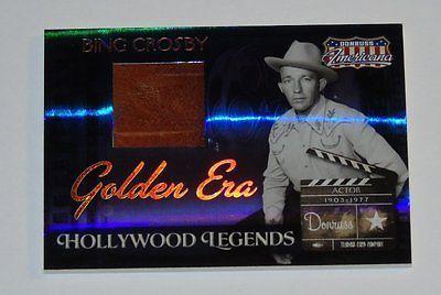 Card Pickers 2007 Donruss Americana Golden Era Materials Bing Crosby 2/25
