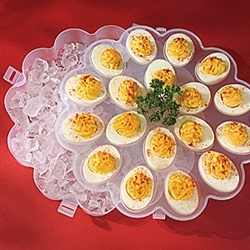 how to make a deviled egg tray