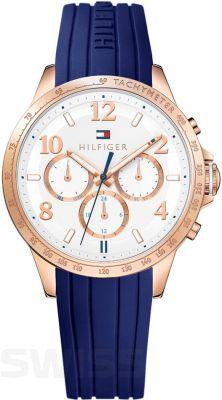 Granatowo - złoty zegarek od TOMMY HILFIGER doda Twojej stylizacji klasy!