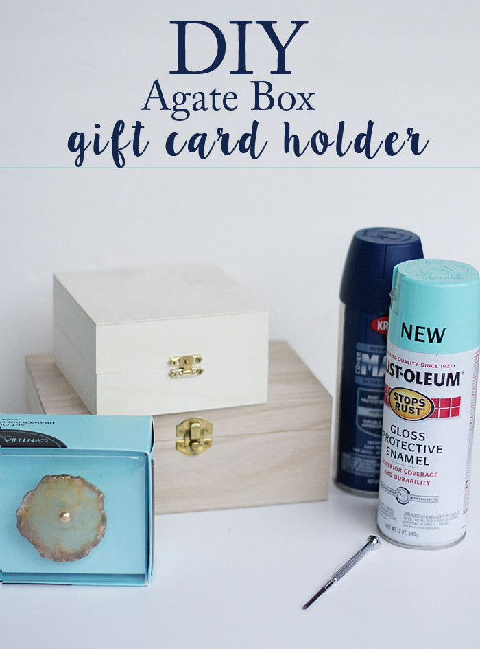 Gift Card, Gift Card Mall, Agate Box, Christmas Gift, DIY, Ebay