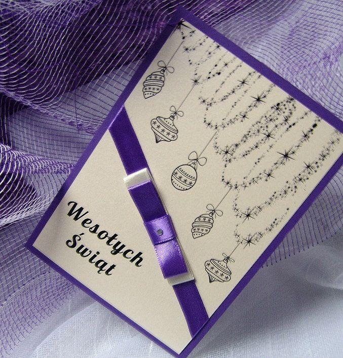 Kartki świąteczne ręcznie robione Kartki na święta na zamówienie