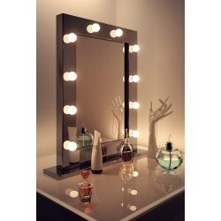 Miroir Lumineux de Loge Theatre Dressing Hollywoond Diamond X