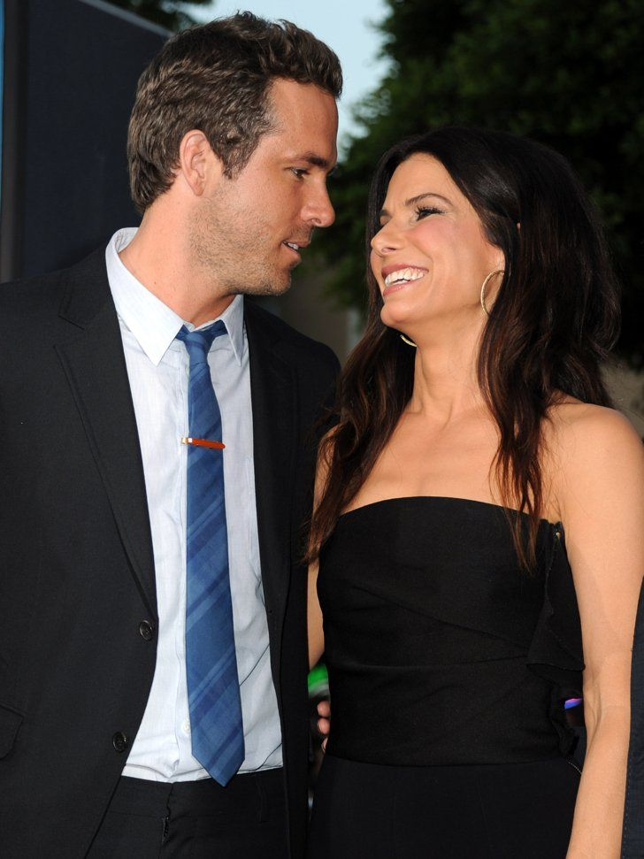 Pin for Later: Celebrate Best Friend Day With Our Favorite Celeb BFFs Ryan Reynolds and Sandra Bullock