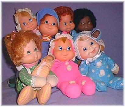 Mattel Baby Beans, bean bag dolls, were my favorite baby dolls as a child.