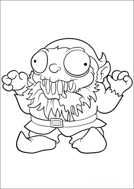 14 best grossery gang images on pinterest  coloring books