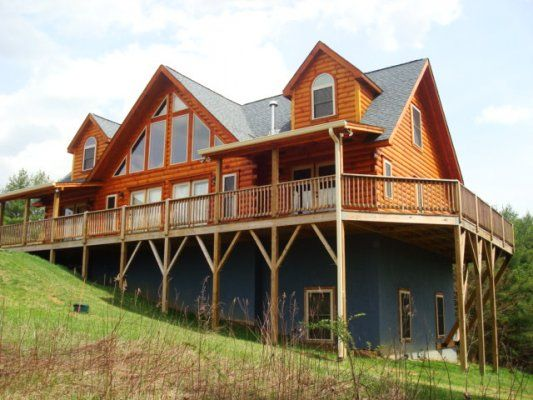 Skyview lodge blue ridge mountain rentals boone and for Cabin rentals near blowing rock nc