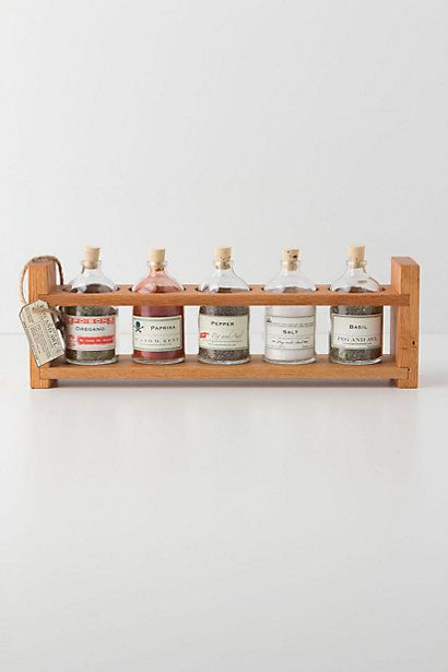 Apothecary Spice Rack