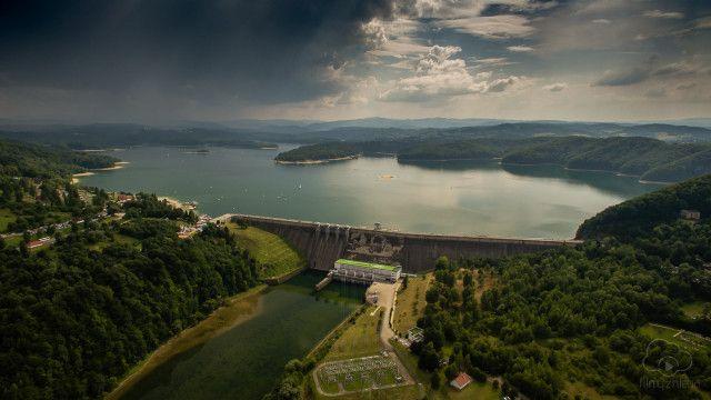 Solina Dam, Bieszczady Mountains, Poland