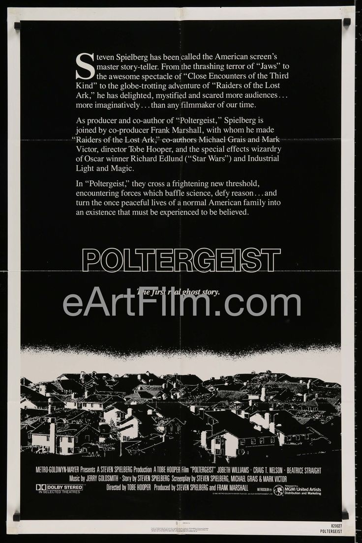 Happy #NationalSiblingsDay https://eartfilm.com/search?q=siblings #film #movies #posters #movieposters #cinema #siblings #brothers #sisters #family #onlychild    Poltergeist-Tobe Hopper-Jobeth Williams-Craig T. Nelson-1982-27x41-Horror