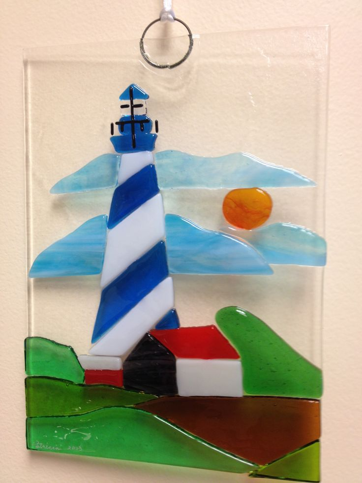 fused glass lighthouse projects - Google Search