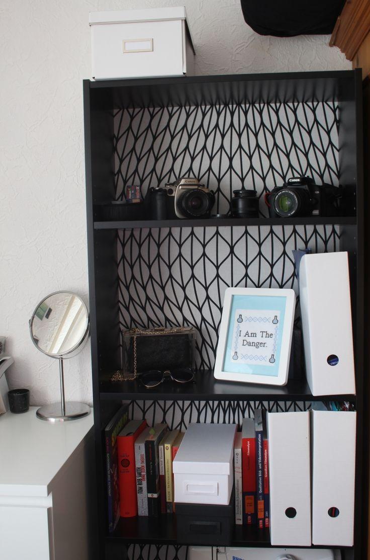 ikea finnby mit stoff bespannt ikea ikea regal und. Black Bedroom Furniture Sets. Home Design Ideas