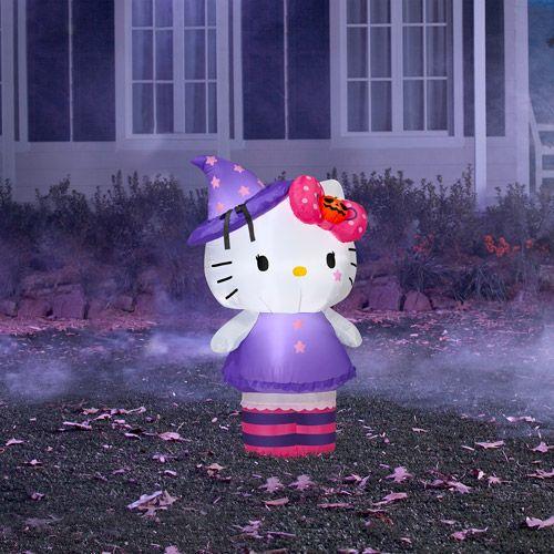 3' Tall Airblown Inflatable Halloween Hello KittyHalloween Decor, Inflatable Halloween, Halloween Halloweendecor, Airblown Inflatable, Costumes Halloweencostumes, Tall Airblown, Halloween Hello, Halloweendecor Costumes, Hello Kitty