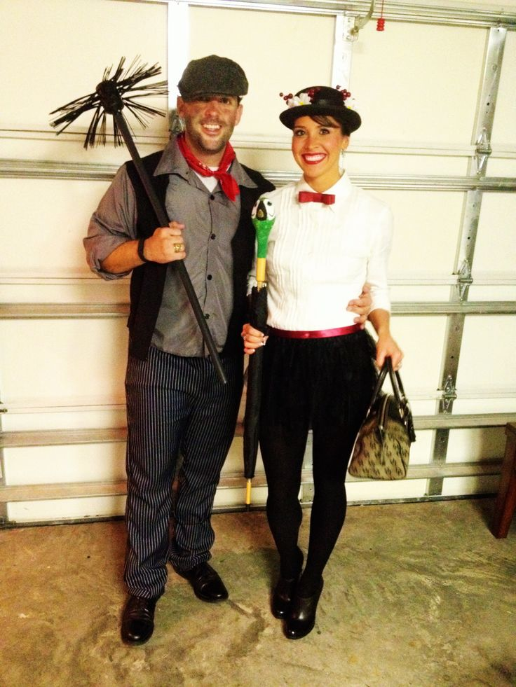 couples halloween costume mary poppins and bert dress up pinterest costumes de couple. Black Bedroom Furniture Sets. Home Design Ideas
