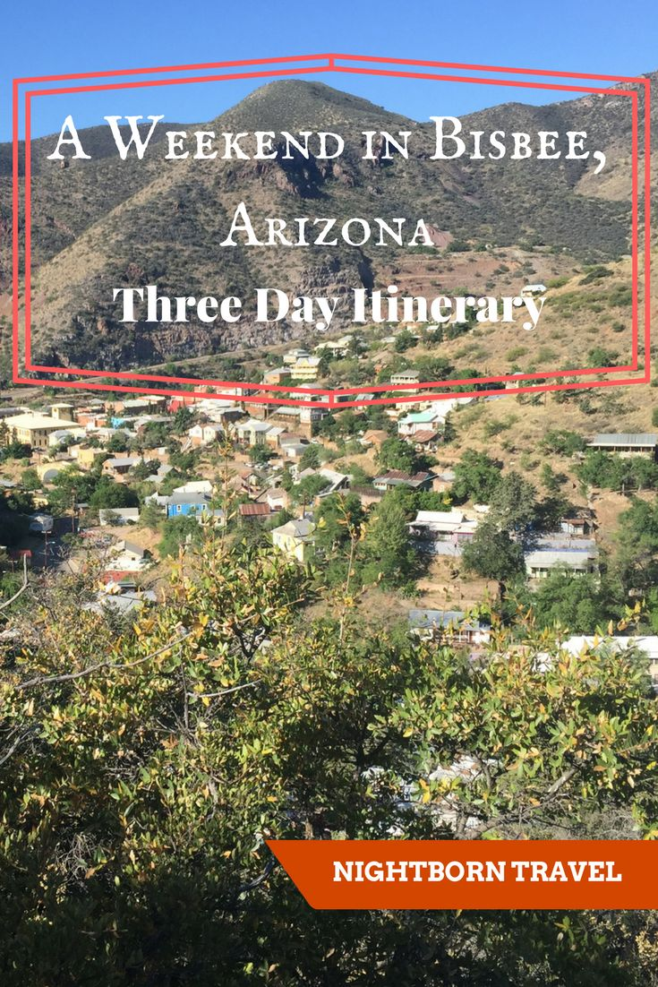 If you love history, culture and the southwest, this itinerary is for you! Bisbee is one of the most beautiful small towns in Arizona, and a great location to learn about the mining history of this state. It is also home to a variety of ghosts and many artists.
