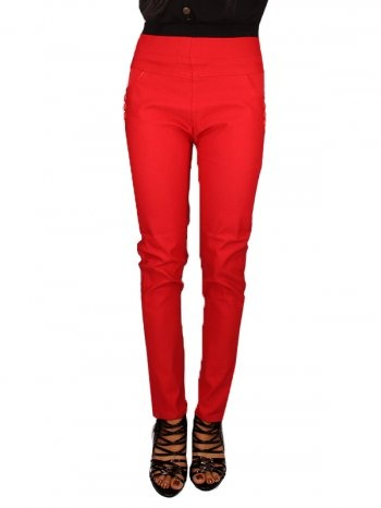 FEEROL JAG PANTS RED [FF0213-10002] - Rs 399.00 : FEEROL FASHIONS, The Fashion Collection