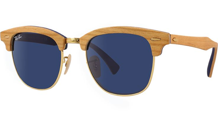Ray-Ban Sunglasses Collection - Clubmaster Wood RB3016M | Ray Ban® Official Site Malaysia