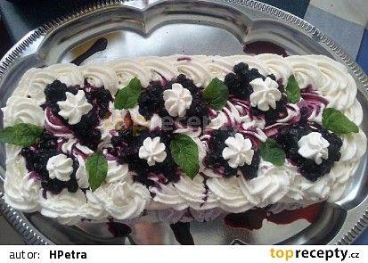 Jiná variace dortu Pavlova recept - TopRecepty.cz
