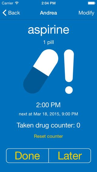 Do not forget your pills   reminder for medicines by MakeItApp