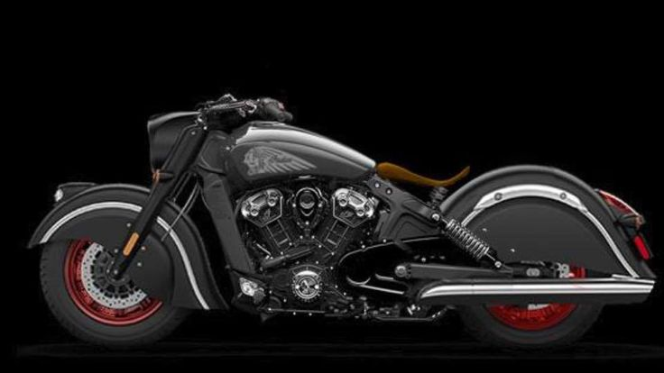 Indian scout Dark Horse