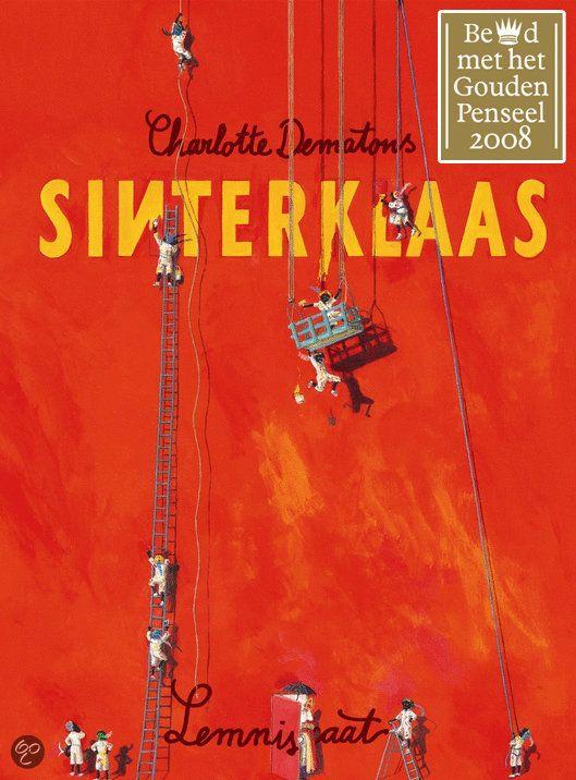 Sinterklaas, van Charlotte Dematons, wat een mooi kijkboek, al uren plezier