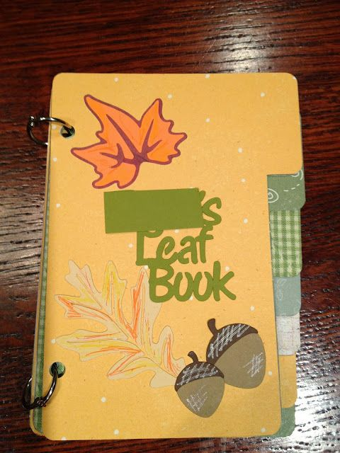 Cats On The Homestead: Leaf Book for Kids