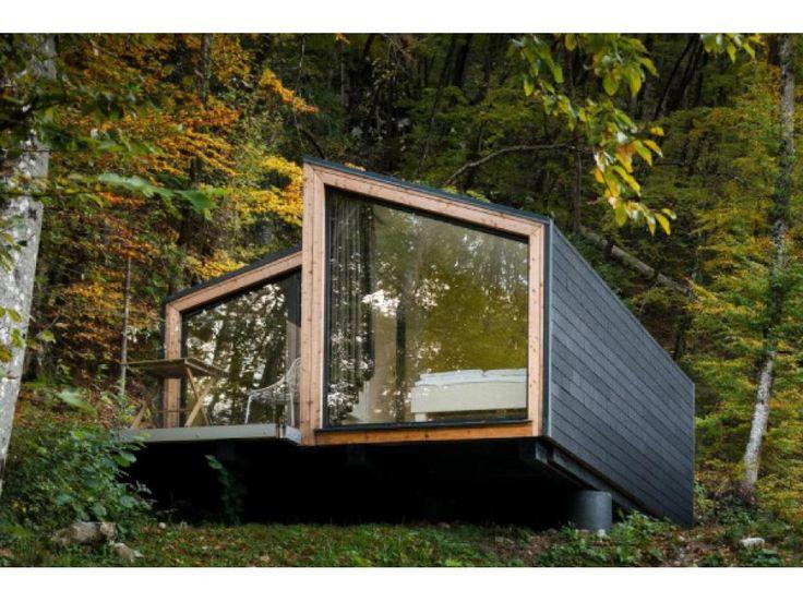 17 migliori idee su case prefabbricate su pinterest for Case in legno svantaggi